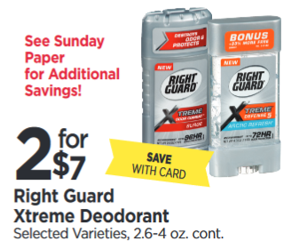 graphic relating to Right Guard Printable Coupon titled Specifically Protect Severe Deodorant Tops Marketplaces Sale printable