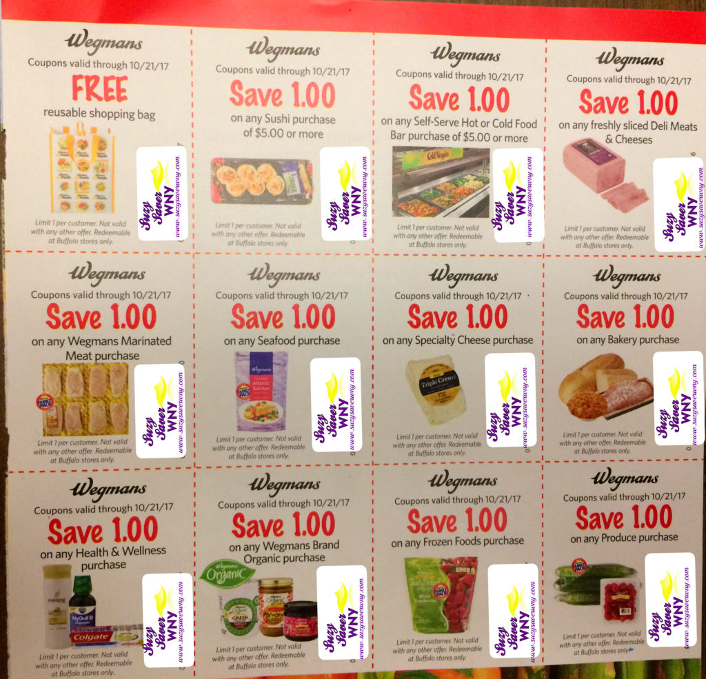image about Wegmans Coupons Printable named Wegmans: Discount coupons toward Rejoice 40 Many years within just Buffalo -