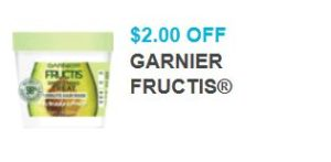 photograph relating to Garnier Fructis Printable Coupon named Substantial Price COUPON: Help you save $2.00 upon Garnier Fructis + Retail store Promotions -