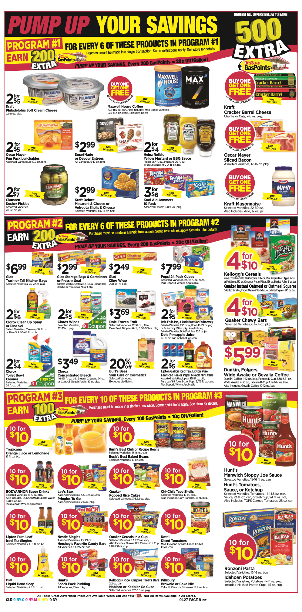 Scannable grocery coupons
