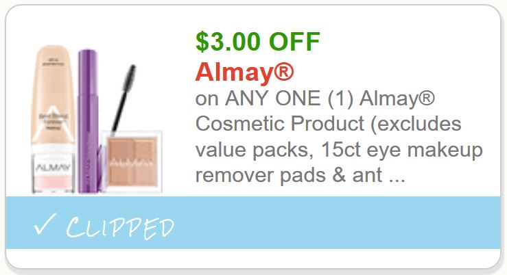 photo about Makeup Coupons Printable known as Almay $3.00 Printable Coupon -