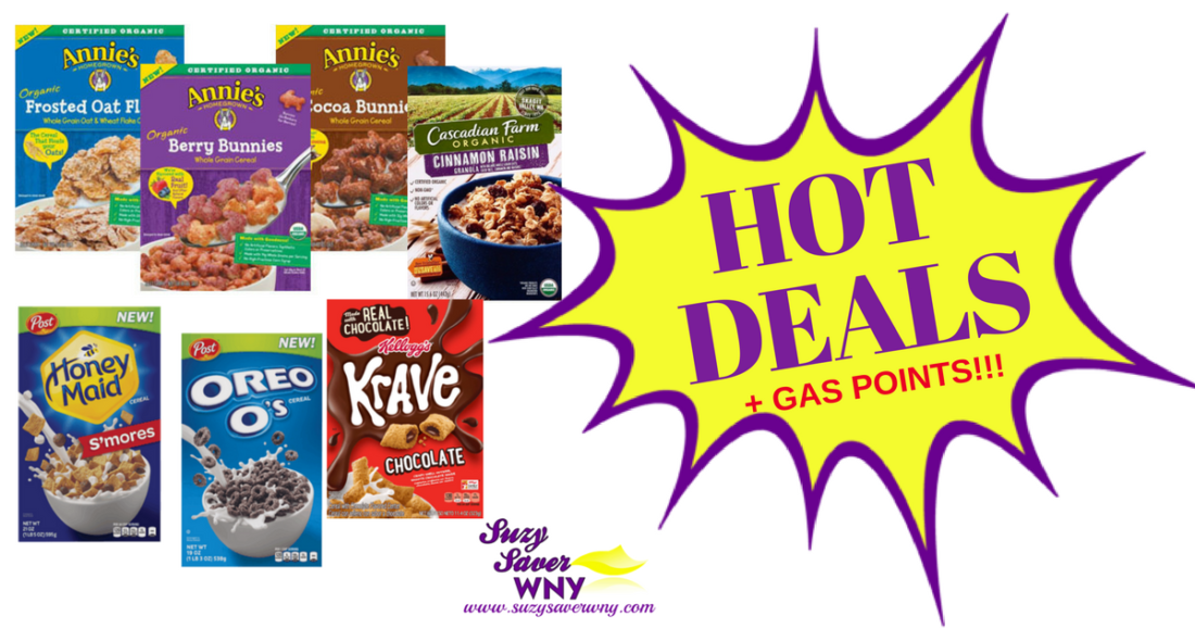 picture about Post Cereal Printable Coupons called Tops Marketplaces Cereal Fuel Box Specials Printable Discount coupons Report