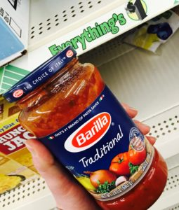 Barilla Pasta Sauce Dollar Tree Deal FREE