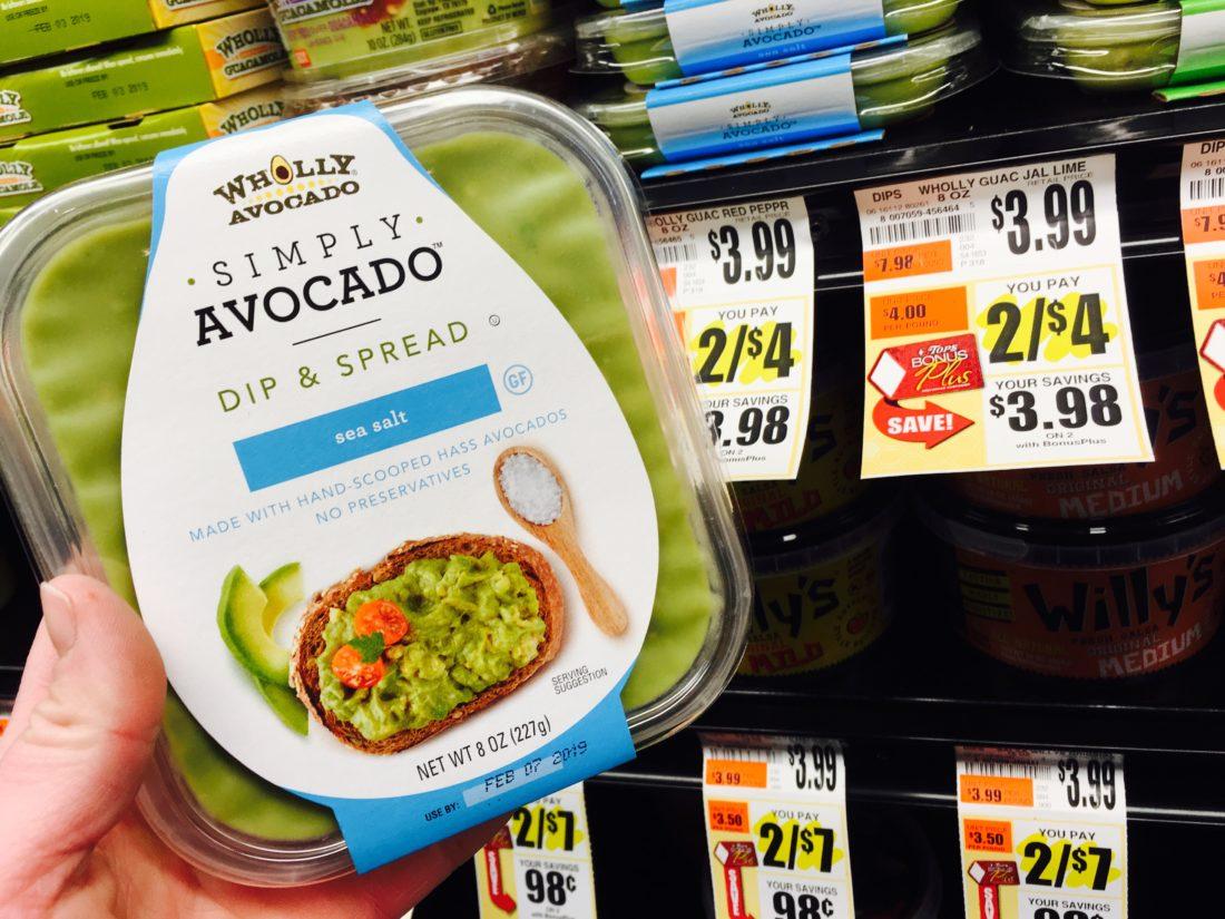 wholly guacamole simply avacado dip and spread tops markets suzy saver wny