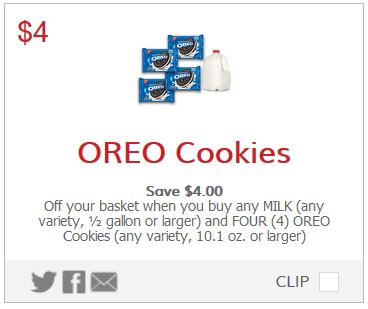 graphic relating to Oreo Printable Coupons named Contemporary Oreo Cookies Coupon -