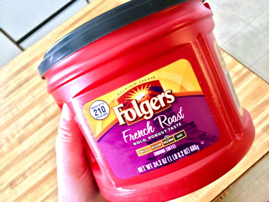 image regarding Folgers Coffee Coupons Printable titled Exceptional Folgers Espresso Coupon + Offers -