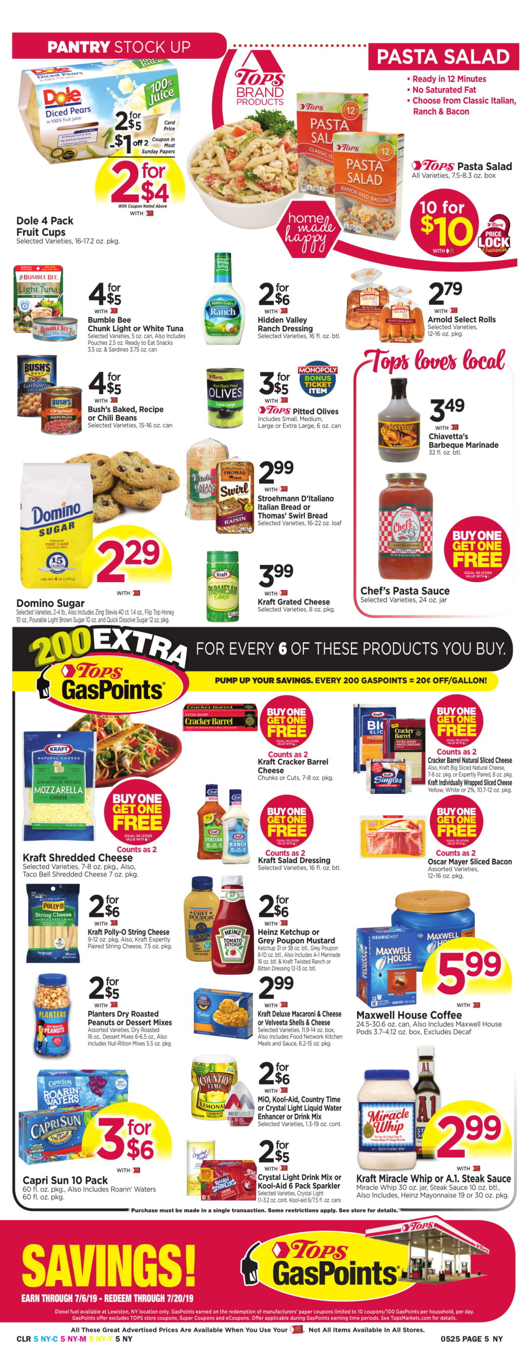 photograph about Cheez It Coupon Printable known as Tops Marketplaces Discounts: Could possibly 19 - 25 2019 -