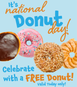 Tops Markets National Donut Day FREE Donut