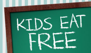 The French Pub Kids Eat Free Report Card Offer July 2019