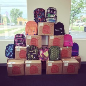 TCC Verizon Backpack event