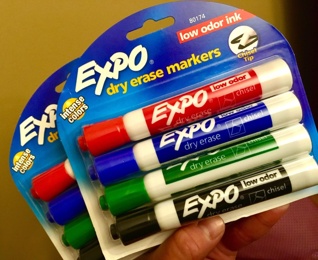 Expo Dry Erase Markers Back to School Supply Deal