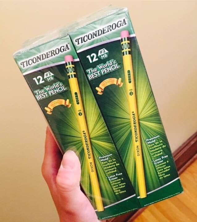Dixon Ticonderoga Pencils School Supply Deals