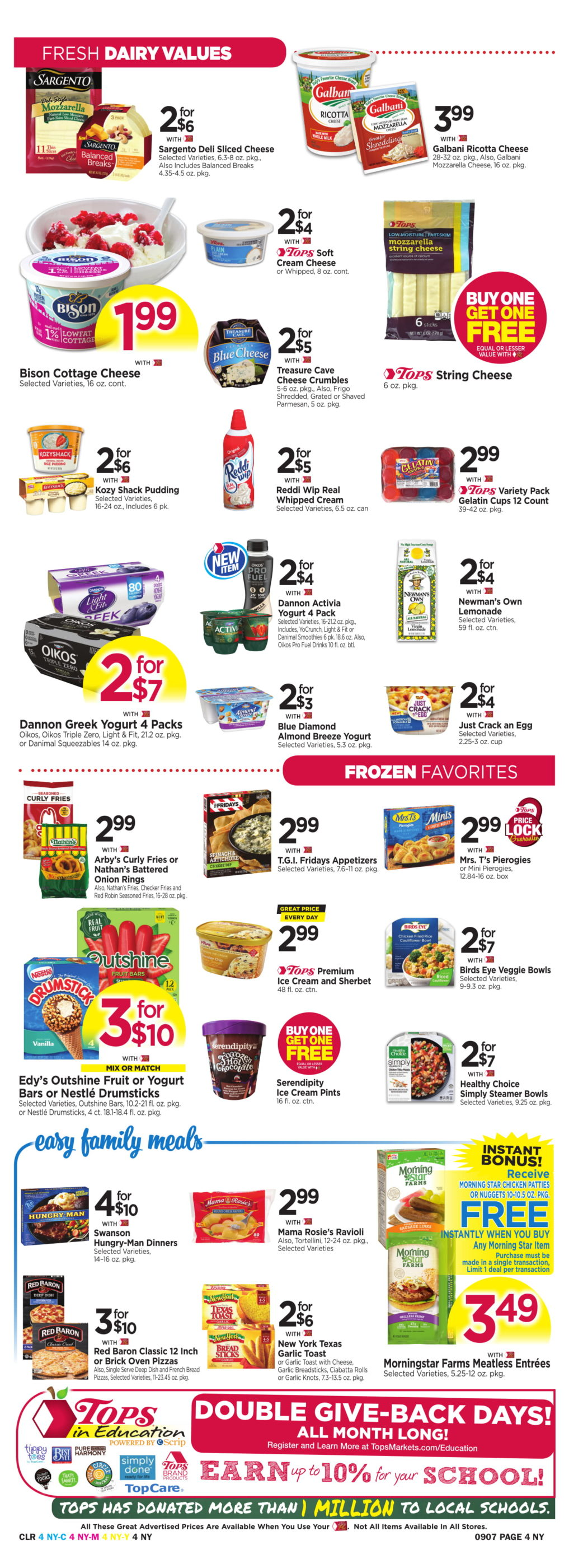 photo regarding Diva Cup Printable Coupon named Tops Marketplaces Bargains: September 1 - 7, 2019 -