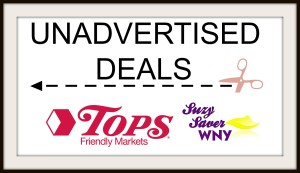 Tops Markets Unadvertised Deals Banner Suzy Saver WNY