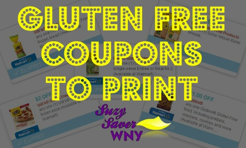Gluten Free Coupons to Print Suzy Saver WNY