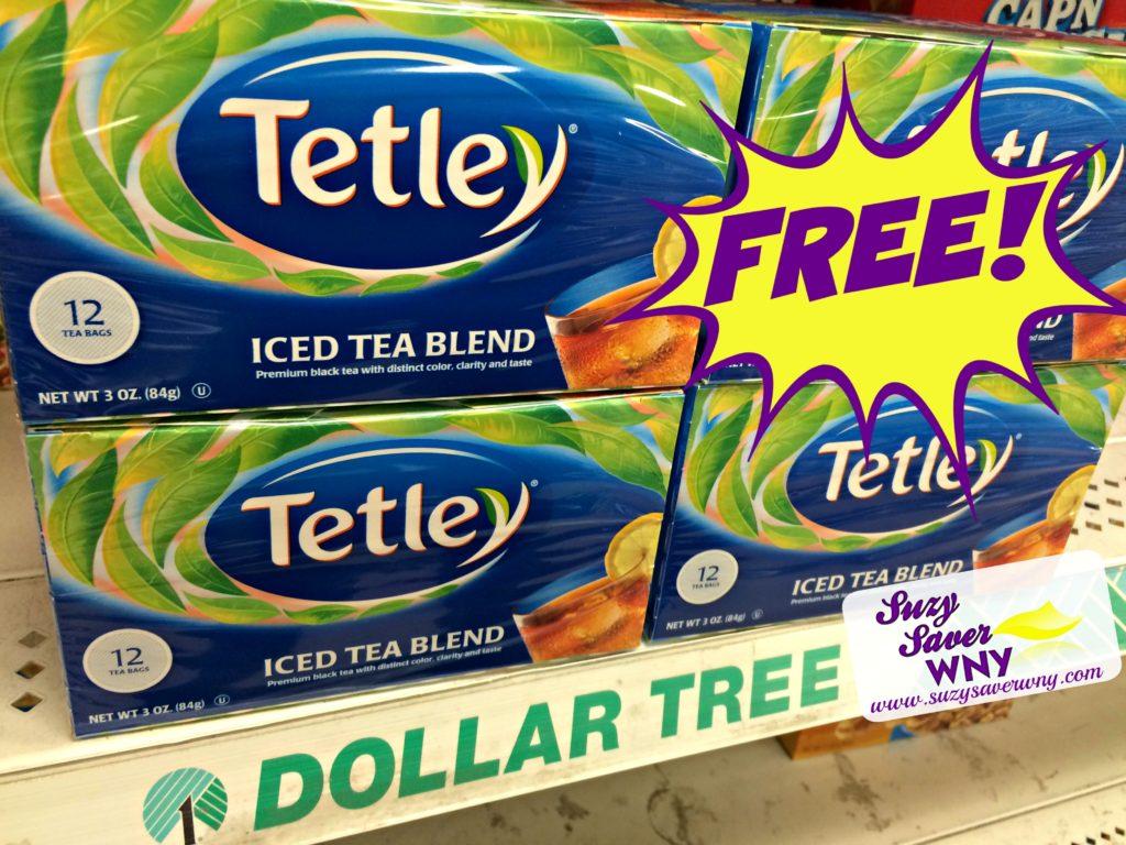 Tetley Tea Dollar Tree FREE Suzy Saver WNY