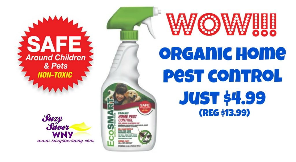 EcoSmart Organic Home Pest Insect Control $4.99 Online Deal Free Shipping Suzy Saver WNY