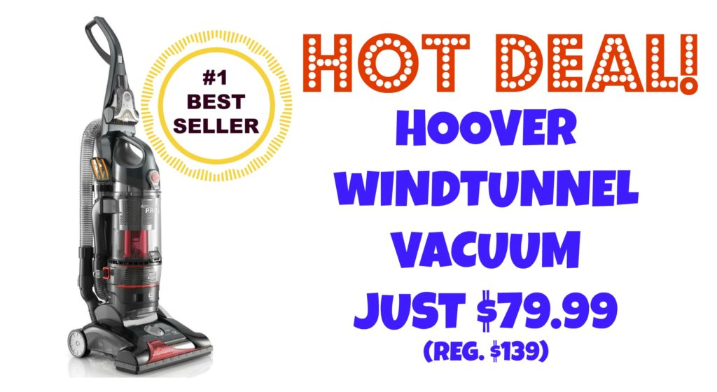 Hoover Windtunnel Vacuum HOT DEAL $74.99 Suzy Saver WNY