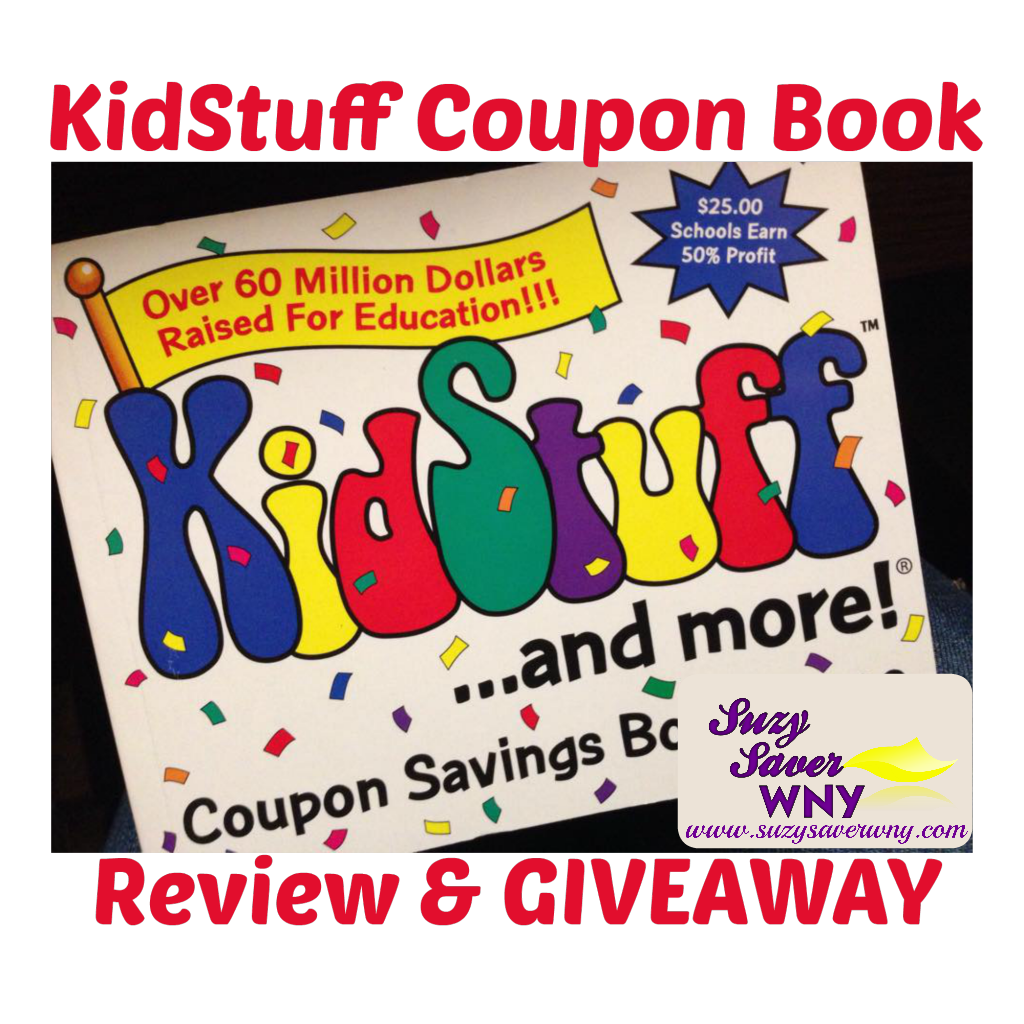 Review Giveaway Kidstuff Coupon Book 4 Winners