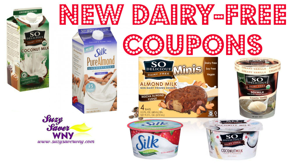 New Coupons Save On Silk So Delicious Dairy Free Products