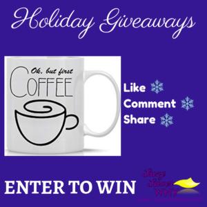 Holiday Giveaway 2018 Suzy Saver WNY Day 7 Coffee Mug