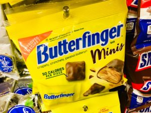 Butterfinger Minis Chocolate Candy Dollar Tree Suzy Saver WNY