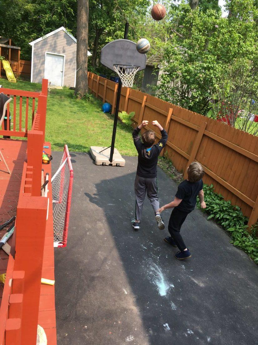 Curbside Finds Basketball Net Suzy Saver WNY