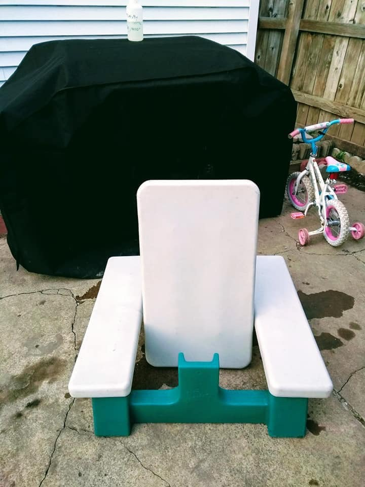 Curbside Finds Picnic Table Suzy Saver WNY