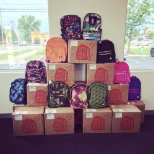 TCC Verizon Backpack event