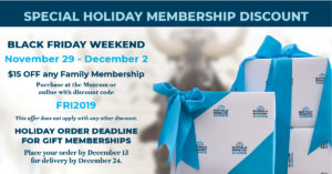 Buffalo Science Museum Member Black Friday Discount