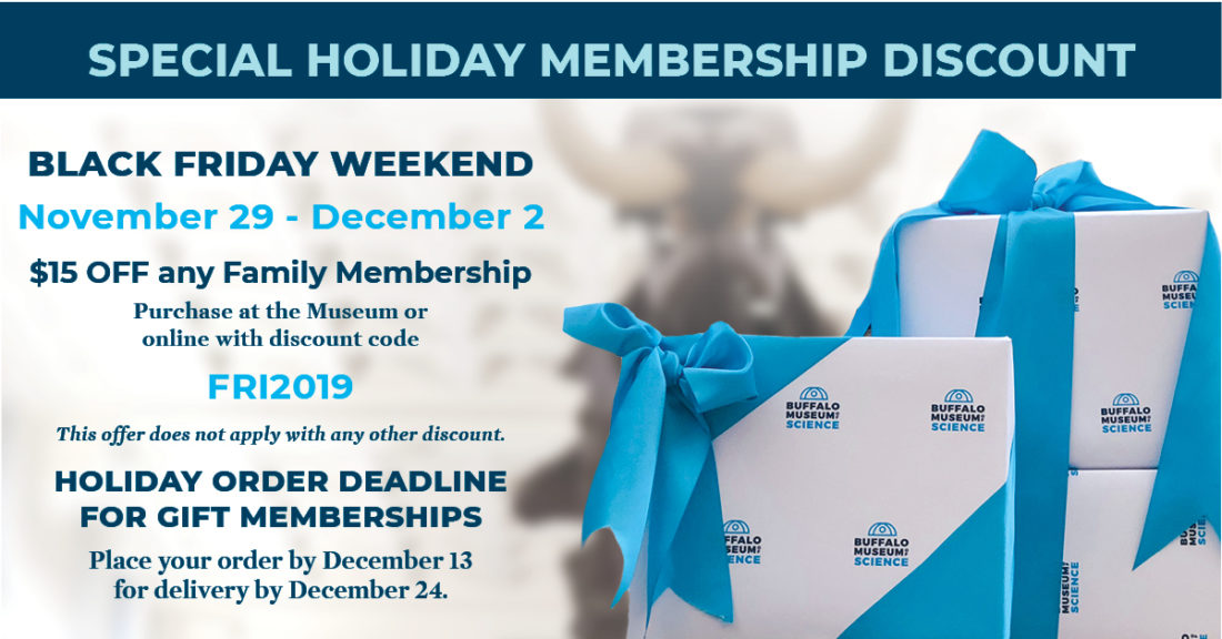 Buffalo Science Museum Black Friday Discount