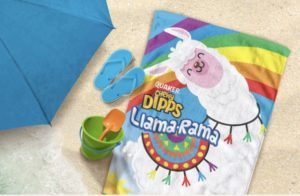Quaker Chewy Bars FREE Llama Rama Beach Towel Offer